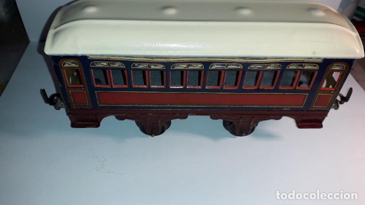 Trenes Escala: PAYA, VAGON TREN PAYA 1930, JUGUETE ANTIGUO, TREN DE JUGUETE , TREN PAYA - Foto 14 - 190555073