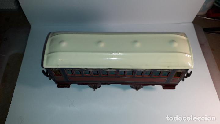 Trenes Escala: PAYA, VAGON TREN PAYA 1930, JUGUETE ANTIGUO, TREN DE JUGUETE , TREN PAYA - Foto 15 - 190555073