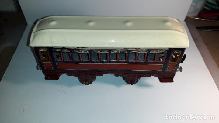 Trenes Escala: PAYA, VAGON TREN PAYA 1930, JUGUETE ANTIGUO, TREN DE JUGUETE , TREN PAYA - Foto 17 - 190555073