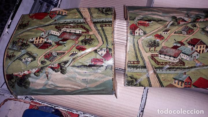 Trenes Escala: PAYA TREN PAYA EN CAHJA CON LOCOMOTORA 984 AÑO 1940 , TREN DE JUGUETE, JUGUETE ANTIGUO, TREN PAYA - Foto 15 - 192076385