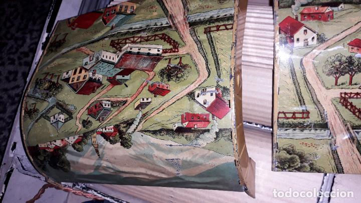 Trenes Escala: PAYA TREN PAYA EN CAHJA CON LOCOMOTORA 984 AÑO 1940 , TREN DE JUGUETE, JUGUETE ANTIGUO, TREN PAYA - Foto 16 - 192076385