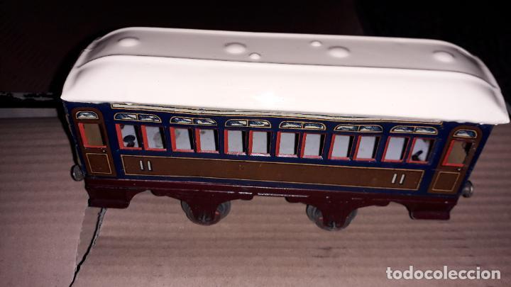 Trenes Escala: PAYA TREN PAYA EN CAHJA CON LOCOMOTORA 984 AÑO 1940 , TREN DE JUGUETE, JUGUETE ANTIGUO, TREN PAYA - Foto 26 - 192076385