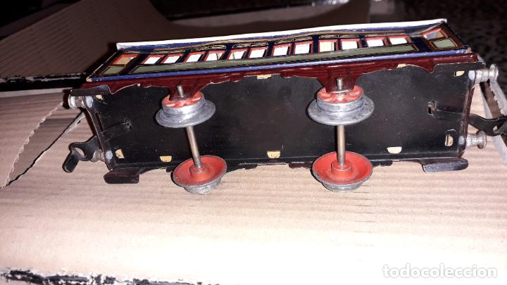 Trenes Escala: PAYA TREN PAYA EN CAHJA CON LOCOMOTORA 984 AÑO 1940 , TREN DE JUGUETE, JUGUETE ANTIGUO, TREN PAYA - Foto 31 - 192076385