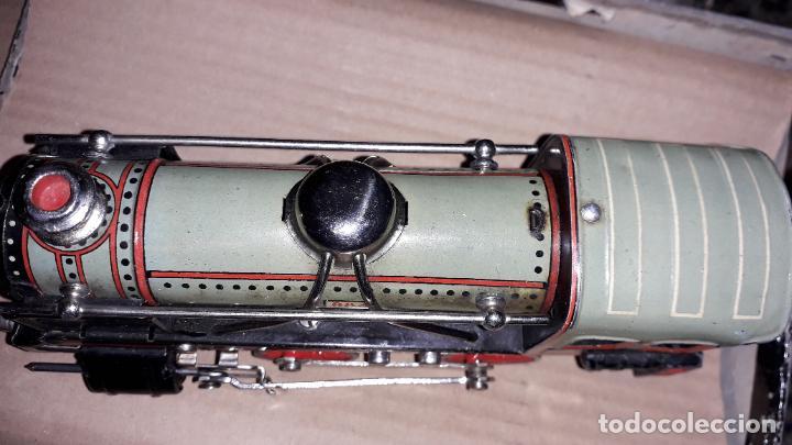 Trenes Escala: PAYA TREN PAYA EN CAHJA CON LOCOMOTORA 984 AÑO 1940 , TREN DE JUGUETE, JUGUETE ANTIGUO, TREN PAYA - Foto 52 - 192076385