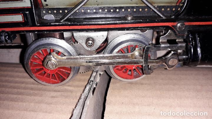 Trenes Escala: PAYA TREN PAYA EN CAHJA CON LOCOMOTORA 984 AÑO 1940 , TREN DE JUGUETE, JUGUETE ANTIGUO, TREN PAYA - Foto 55 - 192076385