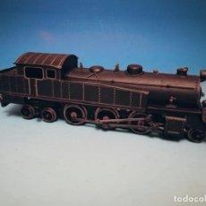 Trenes Escala: LOCOMOTORA LOCOTENDER BAÑARES MADRID ESCALA 0. Lote 192905085
