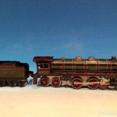Trenes Escala: LOCOMOTORA MASTODONTE PAYA VERDE ESCALA 0. Lote 194156132
