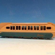 Trenes Escala: RARISIMO AUTOMOTOR LAMECA COLOR AZUL BARCELONA ESCALA 0. Lote 194157911