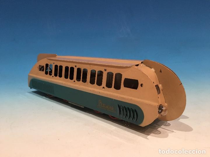 Trenes Escala: RARISIMO AUTOMOTOR LAMECA COLOR AZUL BARCELONA ESCALA 0 - Foto 2 - 194157911