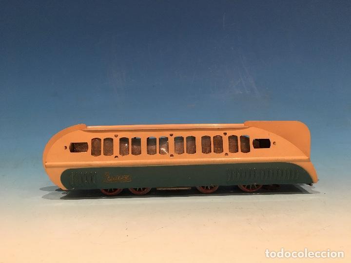 Trenes Escala: RARISIMO AUTOMOTOR LAMECA COLOR AZUL BARCELONA ESCALA 0 - Foto 4 - 194157911