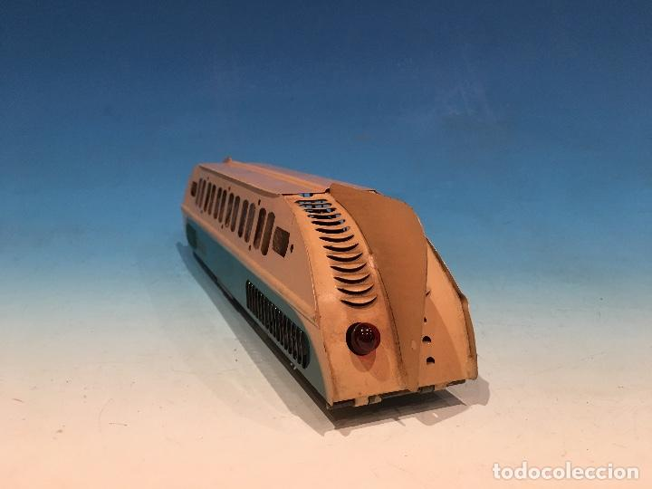 Trenes Escala: RARISIMO AUTOMOTOR LAMECA COLOR AZUL BARCELONA ESCALA 0 - Foto 5 - 194157911