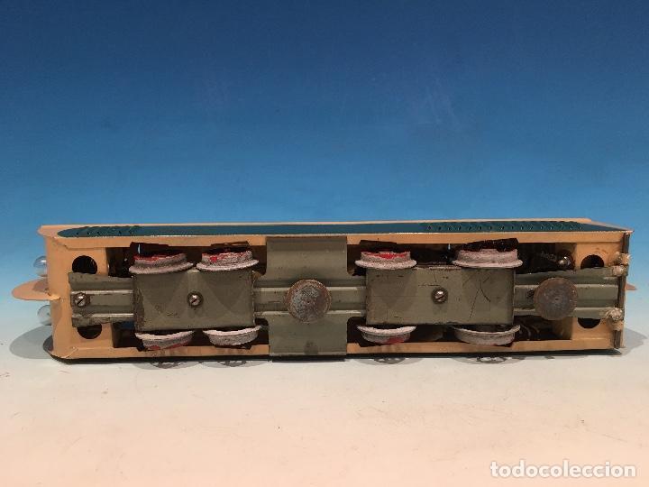 Trenes Escala: RARISIMO AUTOMOTOR LAMECA COLOR AZUL BARCELONA ESCALA 0 - Foto 6 - 194157911