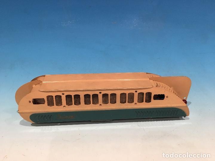 Trenes Escala: RARISIMO AUTOMOTOR LAMECA COLOR AZUL BARCELONA ESCALA 0 - Foto 7 - 194157911