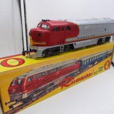 Trenes Escala: RIVAROSSI SCALA 0 - REF.7102-B LOCOMOTORA DIÉSEL AMERICANA F.M. STA.FE. Lote 194201981