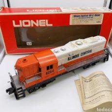 Trenes Escala: LIONEL ESCALA 0 - ILLINOIS CENTRAL GP-9 DIESEL REF. 6-8254. Lote 194246306