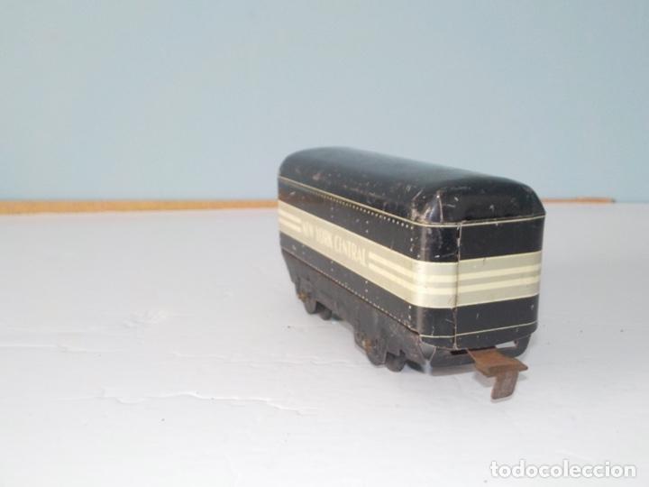 Trenes Escala: Vagon americana de chapa años 30 escala 0 - Foto 2 - 194555977
