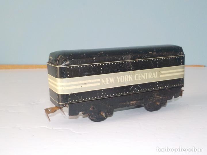 Trenes Escala: Vagon americana de chapa años 30 escala 0 - Foto 3 - 194555977
