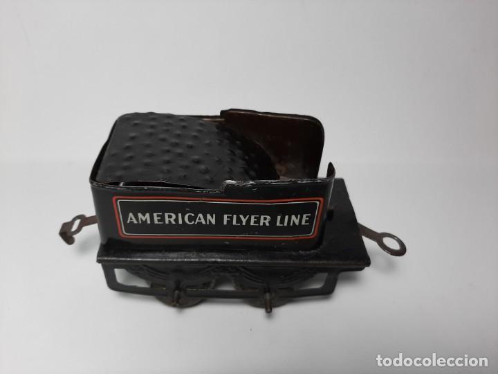 Trenes Escala: CARBONERA AMERICAN FLYER LINE 120 PREGUERRA, COMPATIBLE PAYA, JOSFEL, MARKLIN, MANAMO... - Foto 6 - 194590452