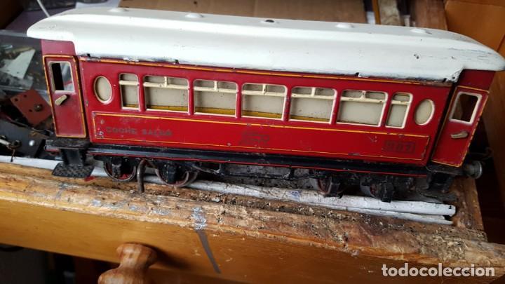 Trenes Escala: Vago de paya año 40 coche salón 987 - Foto 2 - 194597895