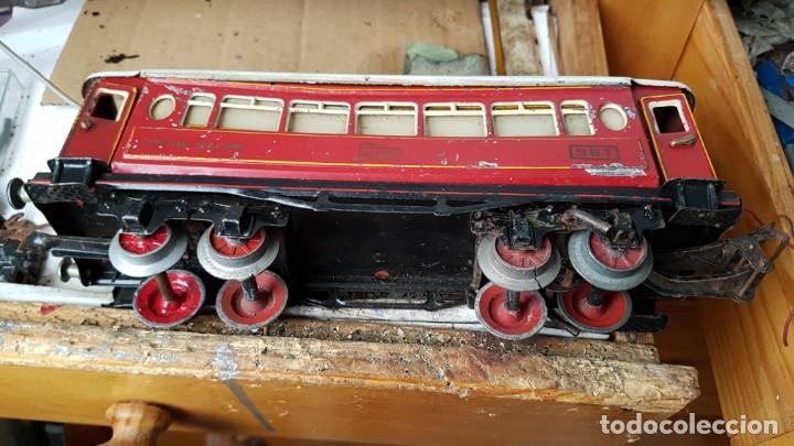 Trenes Escala: Vago de paya año 40 coche salón 987 - Foto 3 - 194597895