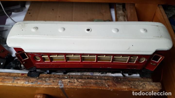 Trenes Escala: Vago de paya año 40 coche salón 987 - Foto 4 - 194597895
