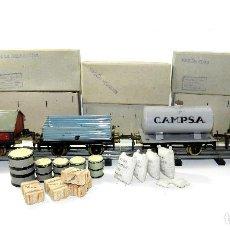 Trenes Escala: VAGONES JOSFEL, ESCALA 0. EN CAJA. AÑOS 40 - 50.. Lote 195312477