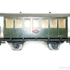 Trenes Escala: VAGÓN PASAJEROS MANAMO MZA, TREN ESCALA 0 AÑOS 40.. Lote 195312555