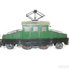 Trenes Escala: LOCOMOTORA COCODRILO ELECTRICA JOSFEL, ESCALA 0. AÑOS 40.. Lote 195313136