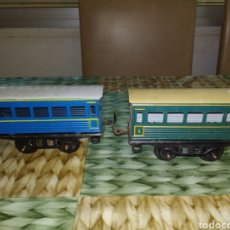 Trenes Escala: PAYA. LOTE VAGONES HOJALATA ESCALA 0. NO RICO. Lote 203977053