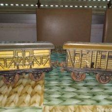 Trenes Escala: GBN. BING. LOTE VAGONES HOJALATA. NO RICO, PAYA. Lote 203982058