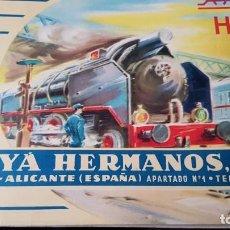 Trenes Escala: CATÁLOGO DE PAYA HO. Lote 205171901