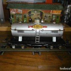 Trenes Escala: GENIAL VAGON CISTERNA SUNOCO NUM. 654 DE LIONEL.. Lote 205522732