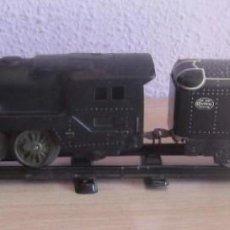 Trenes Escala: MARX ,ANTIGUA LOCOMOTORA,ELECTRICA ,NEW YORK CENTRAL ,TENDER, UNITED STATES OF AMERICA. Lote 206197240