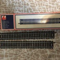 Trenes Escala: CAJA CON DOCE VÍAS MARCA LIMA. Lote 206307671