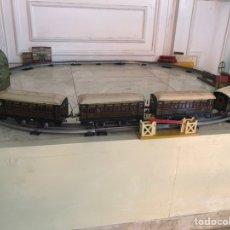 Trenes Escala: 4 VAGONES DE PAYA AÑOS 40-50. Lote 207199978