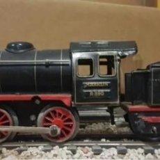 Trenes Escala: LOCOMOTORA Y TENDER MARKLIN, A CUERDA, ESCALA 0. Lote 207630001