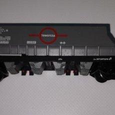 Trenes Escala: ELECTROTREN H0 VAGÓN CARGA TRANSFESA. Lote 210768016