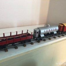 Trenes Escala: TRES VAGONES DE RICO. Lote 211429885