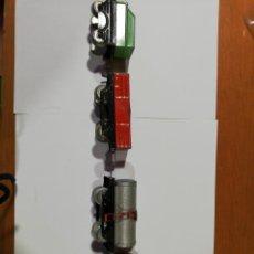 Trenes Escala: 3 VAGONES MERCANCÍAS Y 1 TENDER.. Lote 212973531