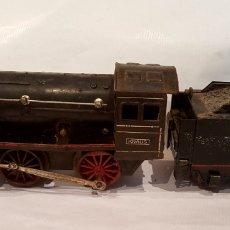 Trenes Escala: LOCOMOTORA MECÁNICA Y TENDER KRAUSS, AÑO 1937. ESCALA 0.. Lote 213914751