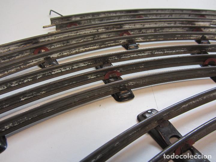 Trenes Escala: Tren eléctrico Payá. Años 40 aprox. En caja original. Locomotora y 4 vagones. No probado 125v. - Foto 9 - 251035665
