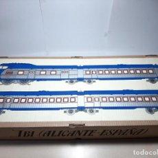 Trenes Escala: PAYA, AUTOMOTOR AZUL DC, NUEVO SIN ESTRENAR, EN SU CAJA ORIGINAL, REF. 1002. Lote 217952006
