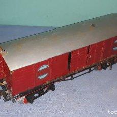 Trenes Escala: VAGON DE MERCANCIAS P.H. 1351 DE PAYA ORIGINAL AÑOS 30/40 ESCALA 0. Lote 219421246