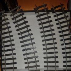 Trenes Escala: 4 VÍAS CURVAS LIMA ESCALA 0. Lote 219606697
