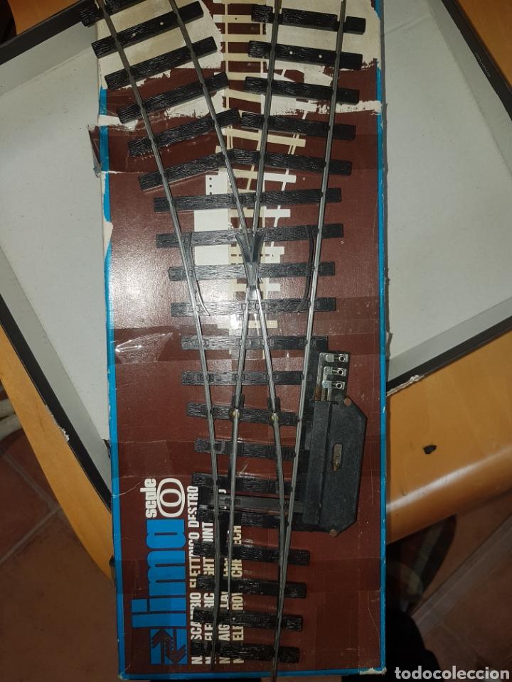 AGUJA ELECTRICA A IZQUIERDA LIMA ESCALA 0 (Juguetes - Trenes Escala 0)