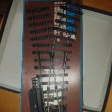 Trenes Escala: AGUJA ELÉCTRICA LIMA A DERECHA, ESCALA 0. Lote 219607452
