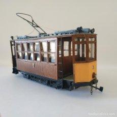 Trenes Escala: TRANVÍA SÓLLER 3 ESCALA 1/43 0M ARTESANAL PRECIO LIQUIDACIÓN MALLORCA VERSIÓN AÑOS 60 TRAM. Lote 160408770