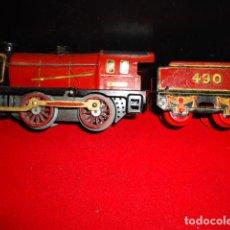 Trenes Escala: LOCOMOTORA Y TAMDEN. Lote 220570930