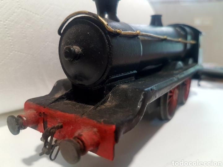 Trenes Escala: Locomotora escala 0 de latón - Foto 6 - 221463052
