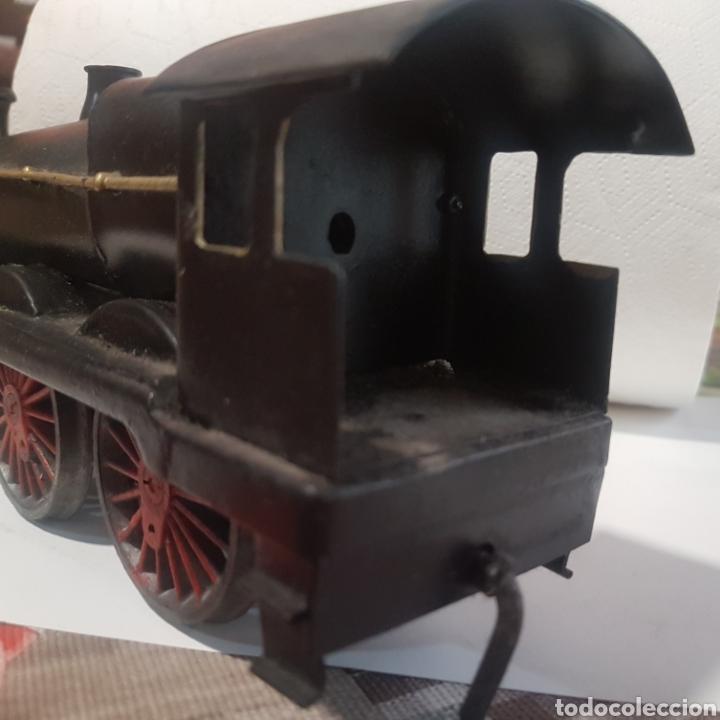 Trenes Escala: Locomotora escala 0 de latón - Foto 9 - 221463052